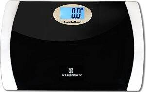 $10 for Digital Bathroom Scale with 15'' Ultra Wide Platform on Amazon.com
