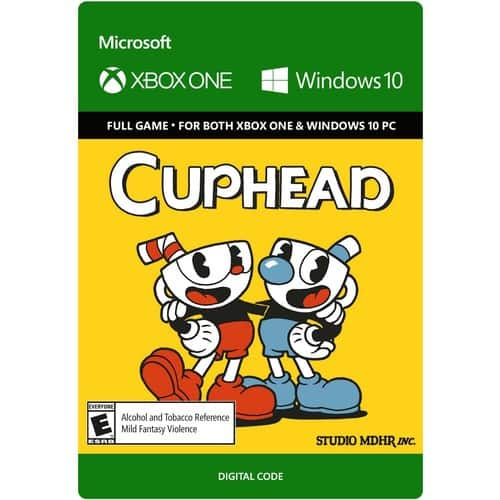 Cuphead - Xbox One/Windows 10 [Digital Code] $16.99