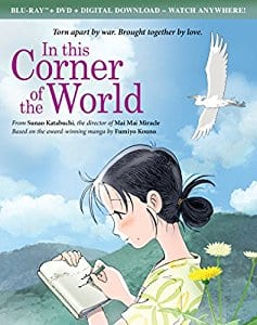 In This Corner of the World Blu-ray + DVD $11.99
