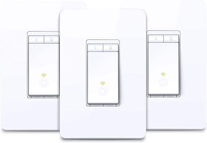 Kasa HS220 Dimmer Switch 3-pack 30% off