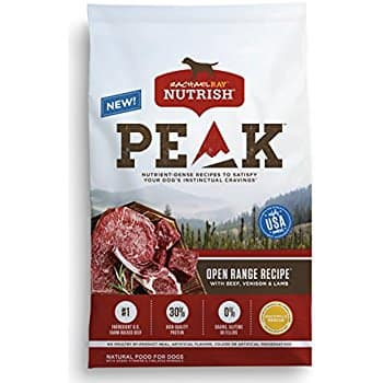 Rachael Ray Nutrish Peak 23 lb dog food $33.58 before tax free ship with amazon prime
