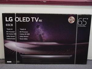 """LG OLED65C8P 65"""" 2018 OLED 4K UHD HDR Smart TV ThinQ $2123.26"""