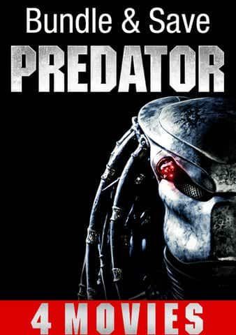 VUDU 4k Predator 4 Film collection with early access to The Predator $29.99