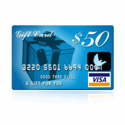 $5 Off a $50 Visa or Mastercard Gift Card $45 at Kroger