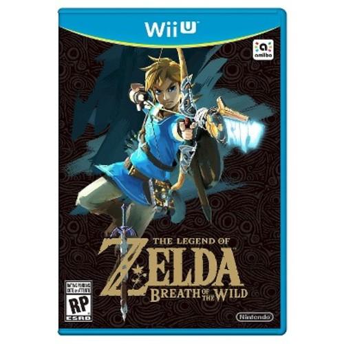 The Legend of Zelda: Breath of the Wild Nintendo Wii U $50.99