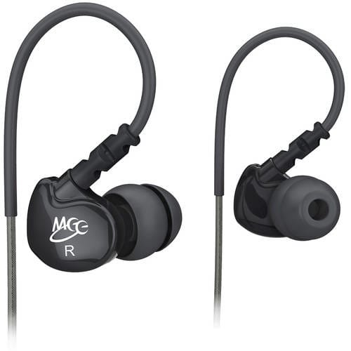 MEE audio Sport-Fi M6 Noise Isolating In-Ear Headphones (Black, White, Clear) - $12, M6P $15 $11.99