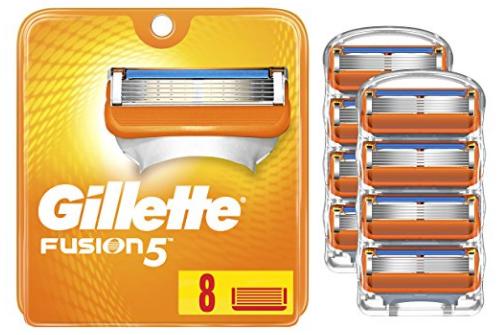 Gillette Fusion5 Men's Razor Blades - 8 Cartridge Refills $16.15