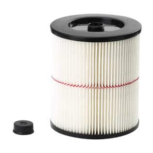 Craftsman General Purpose Red Stripe Vac Cartridge Filter $9.99