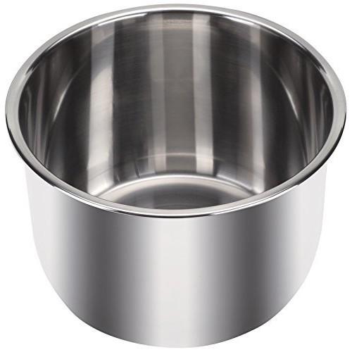 Instant Pot Inner Pot with 3 Ply Bottom, 6 quart, Stainless Steel $22.46