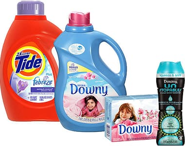 TARGET - $10 GC with 3 laundry/toilet products, $5 GC w/ 4 hair products