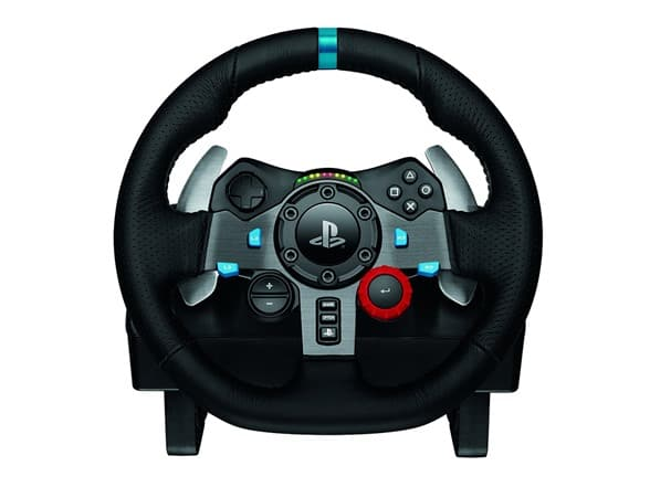 Logitech Dual-Motor Feedback Driving Force G29 Gaming Racing Wheel with Responsive Pedals For Playstation 3/4/5 & PC ($179.99) @woot