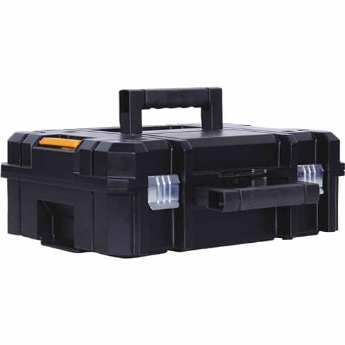 DeWalt TSTAK Stackable and Lockable Toolboxes/Tool Storage Containers 15% Off + $25 Off $100 (DEW2017) + 1.5% CB