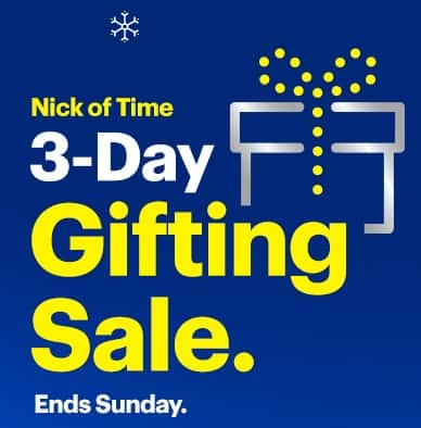 """Best Buy """"Nick of Time"""" sale Live Now thru Sunday!"""