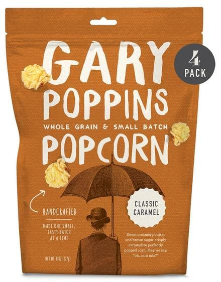 Free Shipping on Gourmet Caramel Popcorn from Gary Poppins
