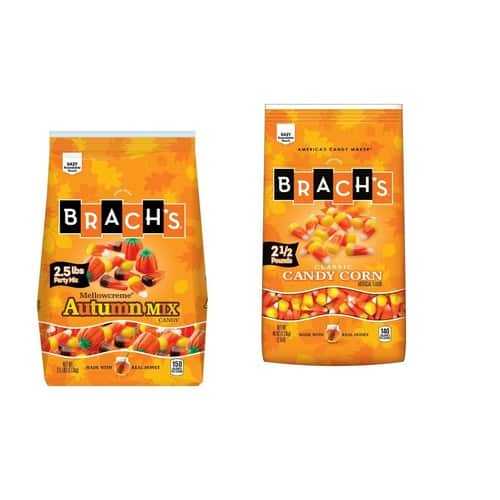 Brach's Candy Corn Autumn and Original 2.5 LB 2 Pack $9.97 with S+S