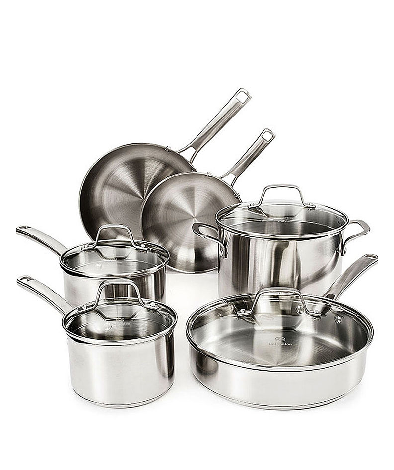 Calphalon Classic Stainless 10-pc. Cookware Set - $99.98 SALE $99.82
