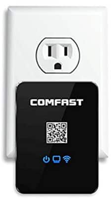 150Mbps 3-in-1 Multifunctional Wall-Plugged Smart Wireless Repeaters $11.19
