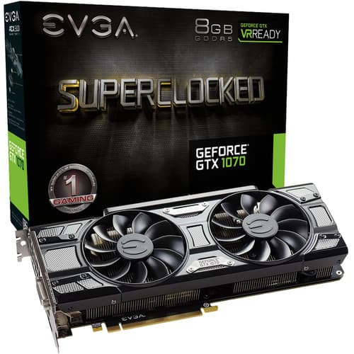 GeForce GTX 1070 SC GAMING Black Edition $379.99 AR