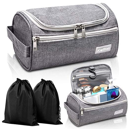 2678bbbeed75 Kaptron Travel Toiletry Hanging Bag Organizer for $7.7 + Free ...