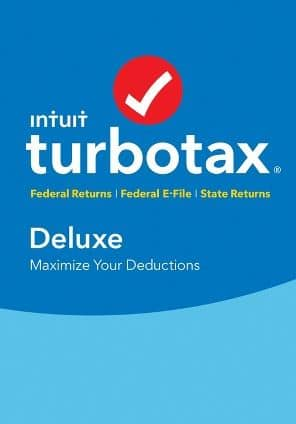 $59.99 TurboTax Deluxe + State 2017 (Boxed) - $44.99 + $5 Target Gift Card
