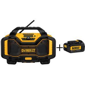 DeWalt DCR025 Radio/Charger + 3 Ah 20v Battery - $165 at Home Depot after Amazon Price Match