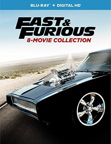 Fast & Furious 8-Movie Collection $29.99