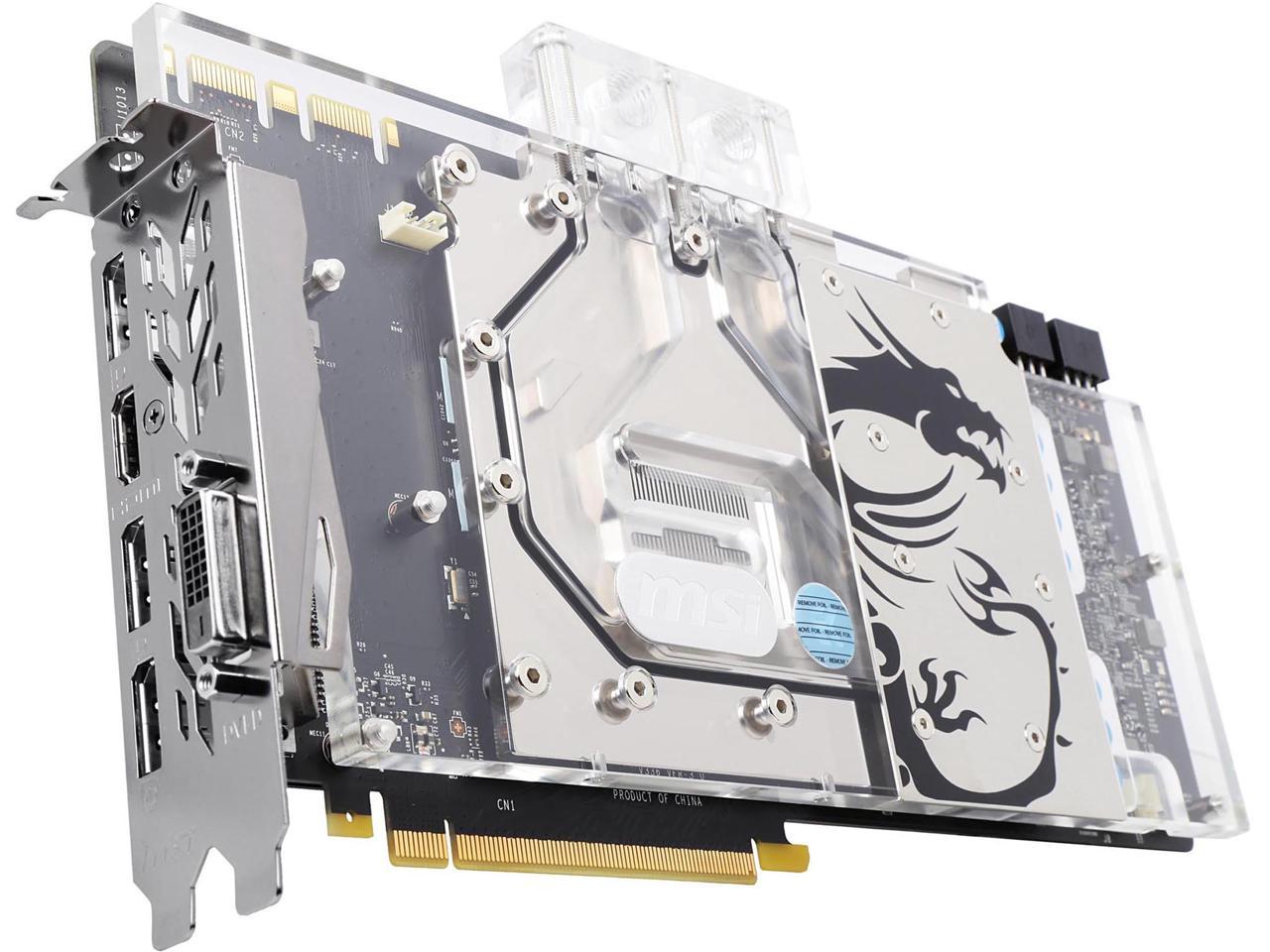 MSI GeForce GTX 1080 Sea Hawk X EK 8GB Video Card + Destiny