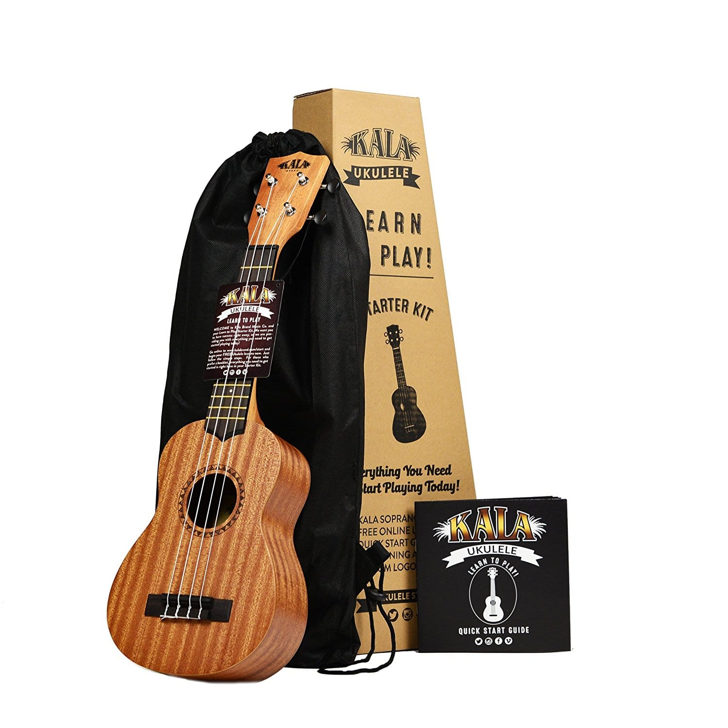 Kala Learn to Play ukulele kit at $49.99