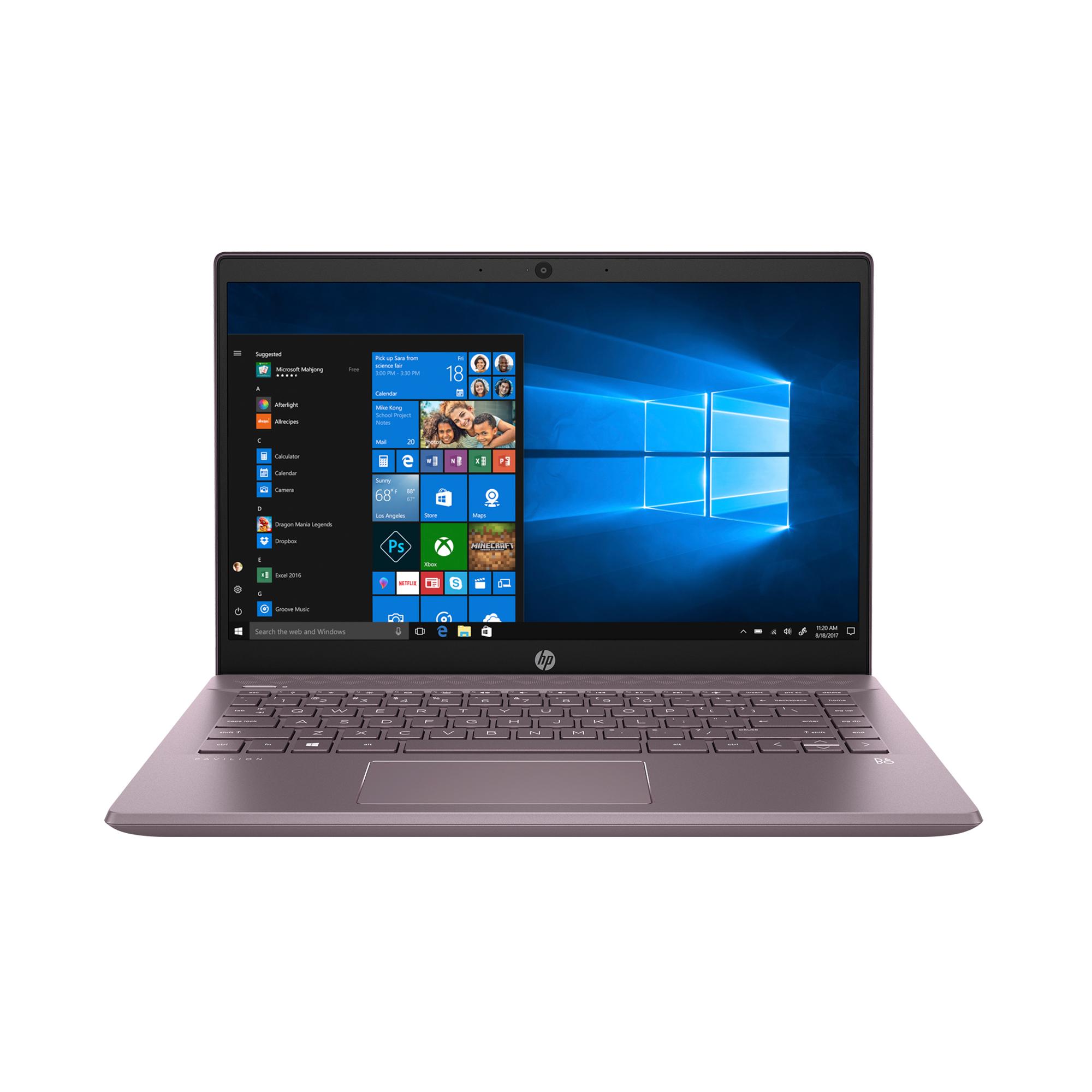 HP Pavilion 14, FHD IPS Micro-Edge Display, Intel Core Core i5-8265U, 8GB, 256GB SSD, Backlit Keyboard - $449 + FS at Walmart
