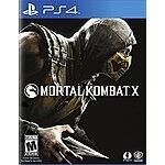 Mortal Kombat X - PlayStation 4 PS4 $41.14 XBone $41.99 shipped free @ amazon.com
