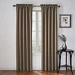 "eclipse Corinne Thermaback Blackout Window Panel Curtains- 42"" x 84"" $9.09 ea shipped w/KOHLS CHARGE (color choice)"