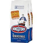 37.2lbs Kingsford Charcoal $9.88, free pick up HOME DEPOT  (two x 18.6lb bags)