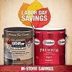 Behr Paint Mail-In Rebates: 1-Gallon Can $10 Off, 5-Gallon Bucket $40 Off  to 9/7 at Home Depot