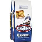 Kingsford 2-Pack 18.6-lb (37.2-lb Total) Charcoal Briquettes  $9.88 free pick up LOWES