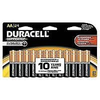 Duracell Coppertop Alkaline Batteries 24/Pack, AAA or AA $  10 pick up Staples (or $  2/20 ship w/rewards #)