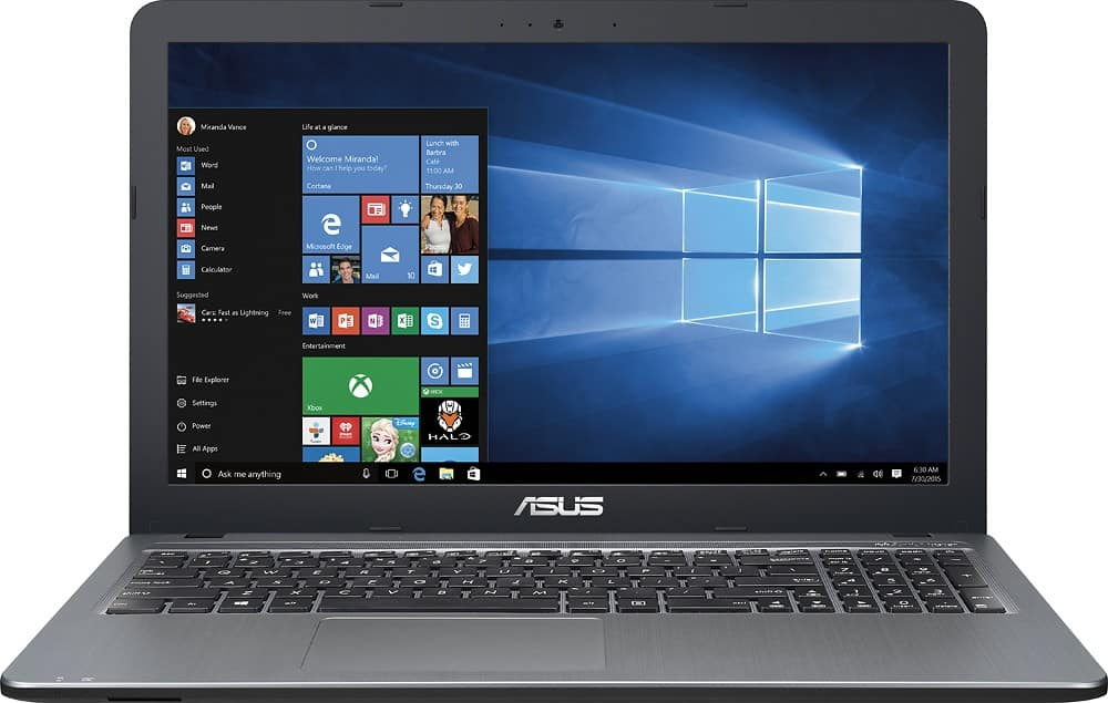 "Asus - 15.6"" Laptop - Intel Core i3 - 4GB Memory - 1TB Hard Drive - Silver  $299.99 shipped BEST BUY"