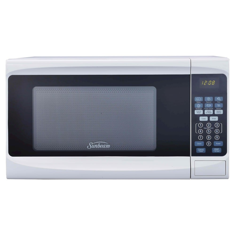 Sunbeam 0.7 Cu FT Microwave $29.99 or Whirlpool 2.7 cu ft Compact Refrig $79.99 shipped or free pick up TARGET.com