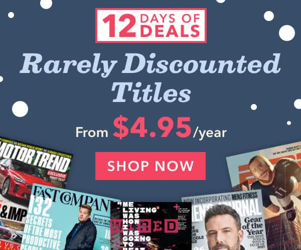 PEOPLE Magazine $39.95 for One Year (New or Renew), Family Handyman $7.99, many other titles to choose from DISCOUNT MAGS