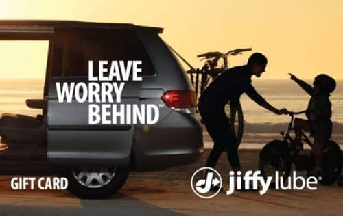 $35 Jiffy Lube Gift Card and get an Add'tl $15 code ($50 Card) - Via Email  EBAY