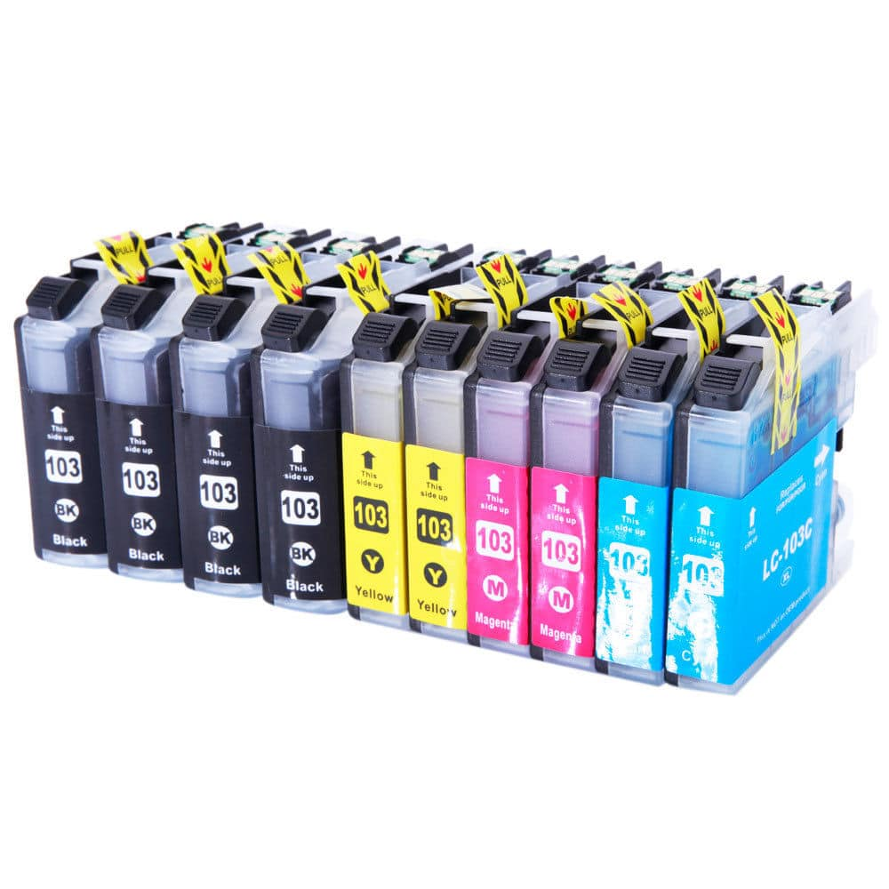 10PK LC103 XL Compatible Ink Cartridge For Brother MFC-J470DW J6920DW J245 J475   $7 free ship EBAY