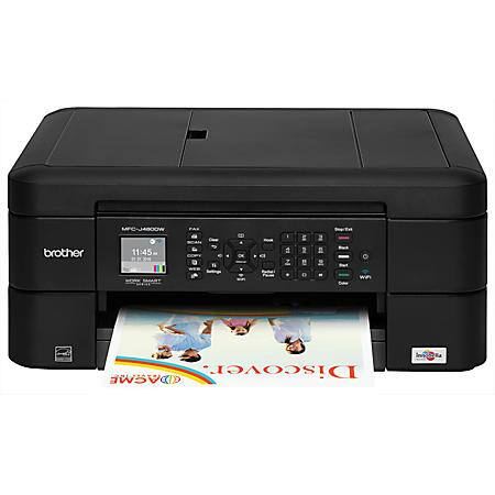 Brother Wireless Color Inkjet All-In-One Printer, Copier, Scanner, Fax, MFC-J480DW   $50 shipped PLUS $25 back in rewards OFFICE DEPOT/MAX