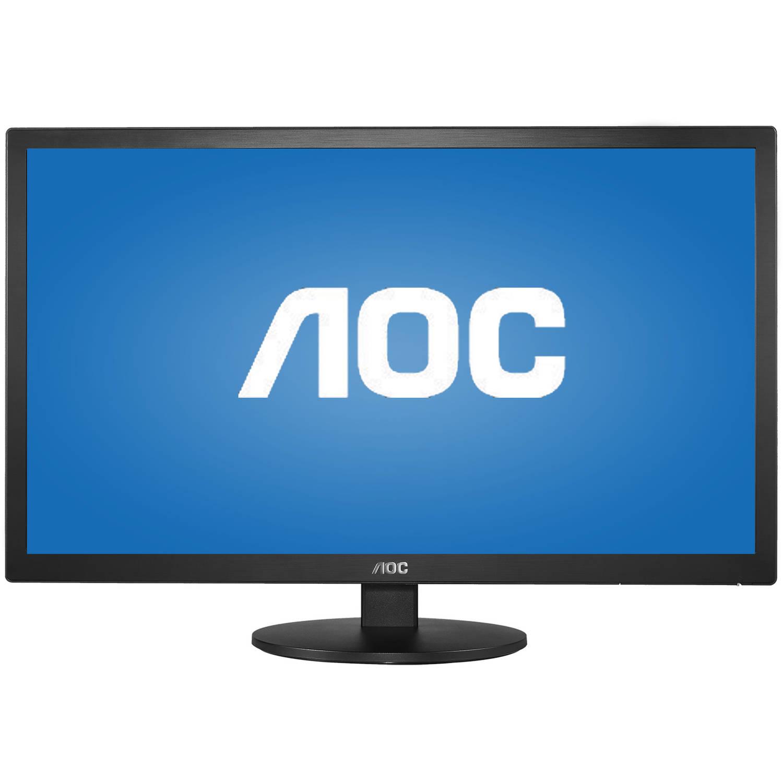 """YMMV B&M - Wal-Mart - AOC Monitor E2770SHE - 27"""" 1080p Fast 2ms VGA HDMIx2 - $74"""