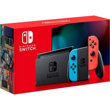 Military Only - AAFES - Nintendo Switch with Neon Blue & Neon Red Joy-cons In stock - Free Shipping, no tax $299