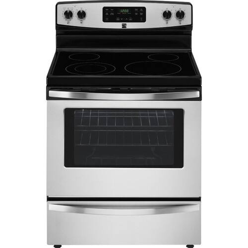 Kenmore 94173 5.3 cu. ft. Self Clean Electric Range in Stainless Steel, includes delivery and hookup (Available in select cities only) $398.99