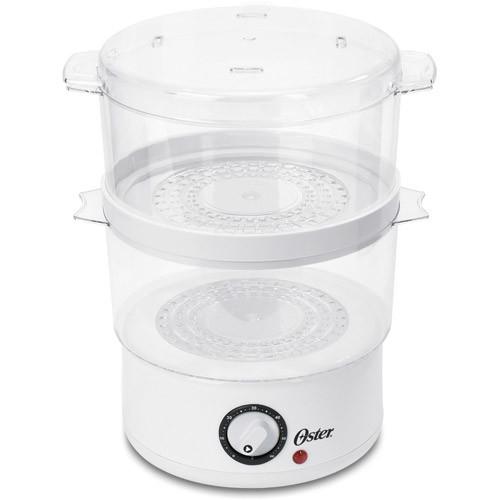 Oster CKSTSTMD5-W 5-Quart Food Steamer, White $16.12