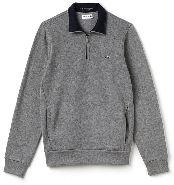 Lacoste Men's Stand Up Collar sweatshirt $29.87