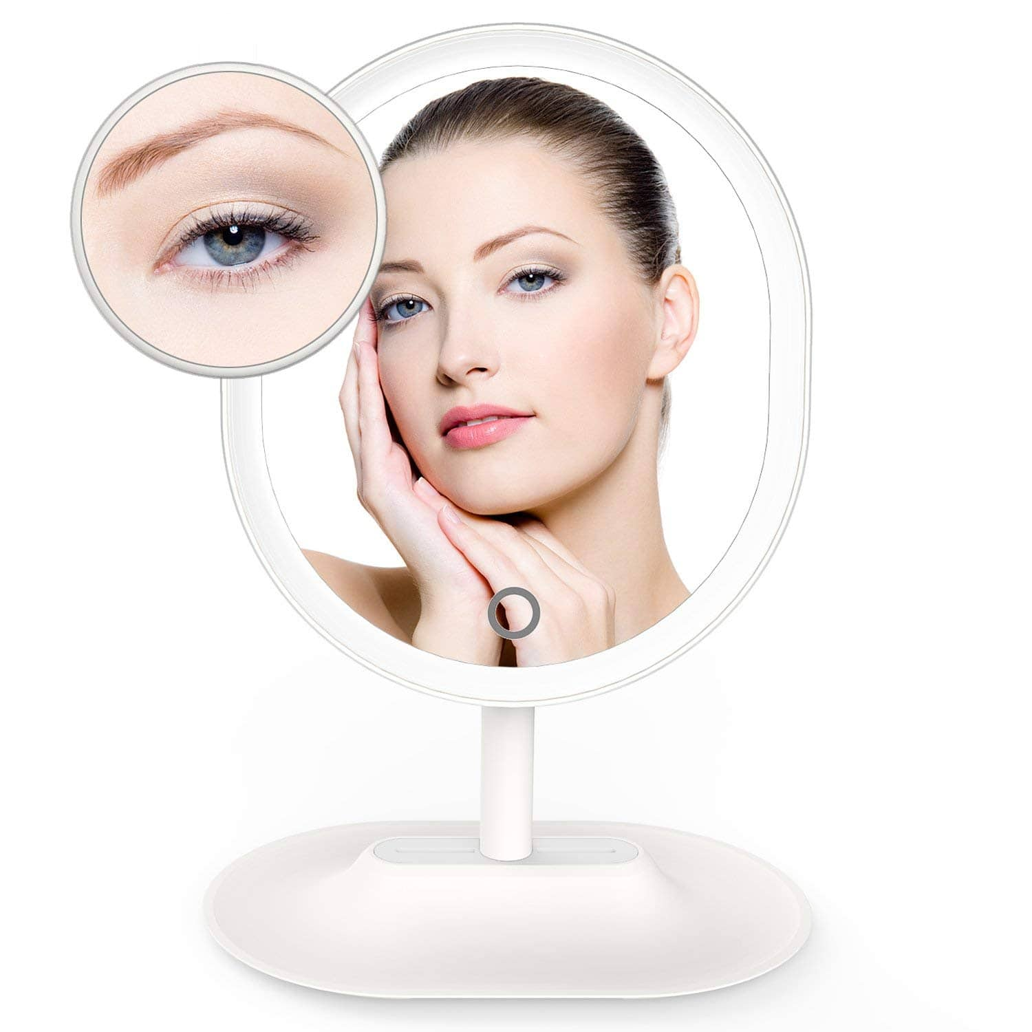 70% Off THZY Makeup Mirror LED Lighted 1X / 7 X Magnification for $8.99 (amazon)