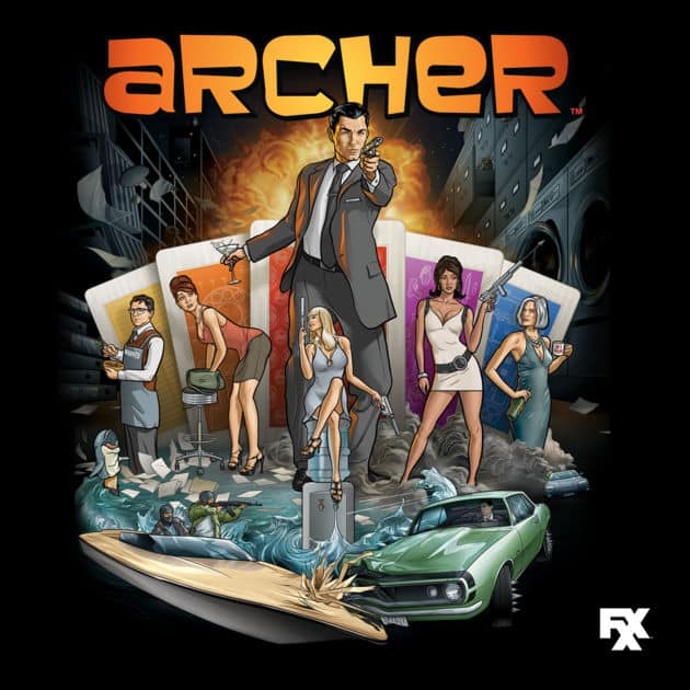 TV Shows (iTunes in HD): Season 1 of Archer, Breaking Bad, Justified $5
