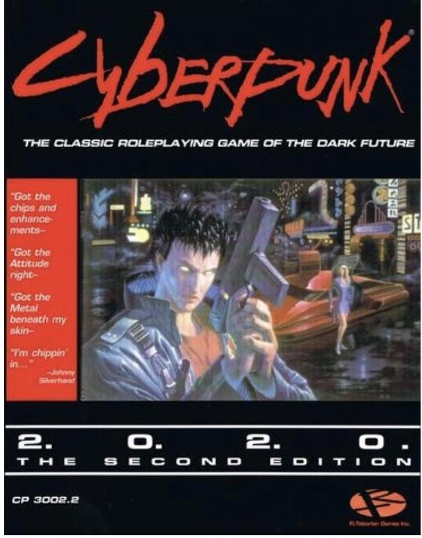 Cyberpunk RPG (1988) e-book Bundle $1