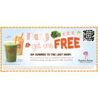 Jamba Juice Deal: HEADS UP:  Jamba Juice Labor Day BOGO (8/28 - 9/1/14)